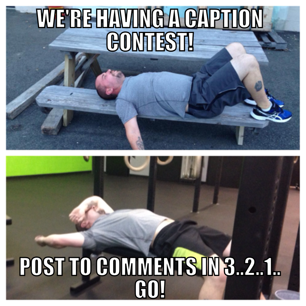 meme friday's meme caption contest workplay crossfit